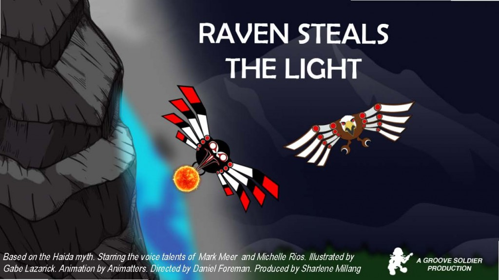 Raven Steals The Light has been completed and the reviews are pouring in.